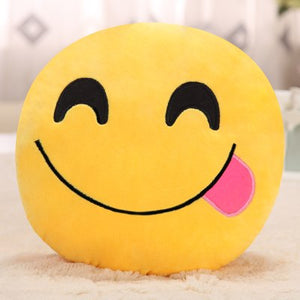 emoji pillow cushion decoration decorative pillows Smiley Face Pillow emoticons cushions smile emoji pad