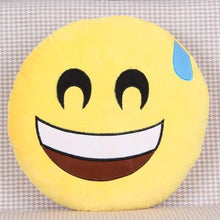 Load image into Gallery viewer, emoji pillow cushion decoration decorative pillows Smiley Face Pillow emoticons cushions smile emoji pad