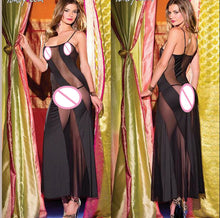 Load image into Gallery viewer, New arrival sexy Elegant Women's underwear Female Night Club Sexy backless dress Transparent lace nightgown Clothes