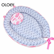 Load image into Gallery viewer, High Quality Sleeping Nest Bed Newborn Travel Baby Protector Plush Crib Soft and Comfortable Portable Baby Sleeping Dedicated