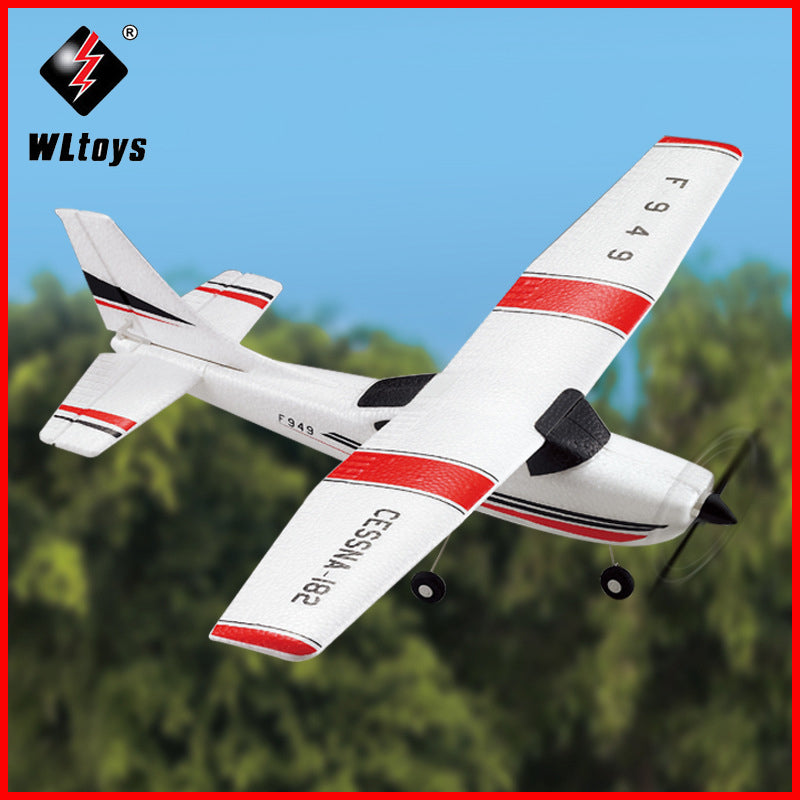 2019 WLtoys F949 Sky King 2.4G RC Aircraft Fixed-wing RTF Airplane Radio Control 3CH RC Airplane Fixed Wing Plane WL 949 drone