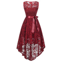 Load image into Gallery viewer, 2018 Women Vintage Lace Dress Blet Sleeveless Dress Ladies Elegant Dresses Women Clothes Summer Party Vestidos Verano