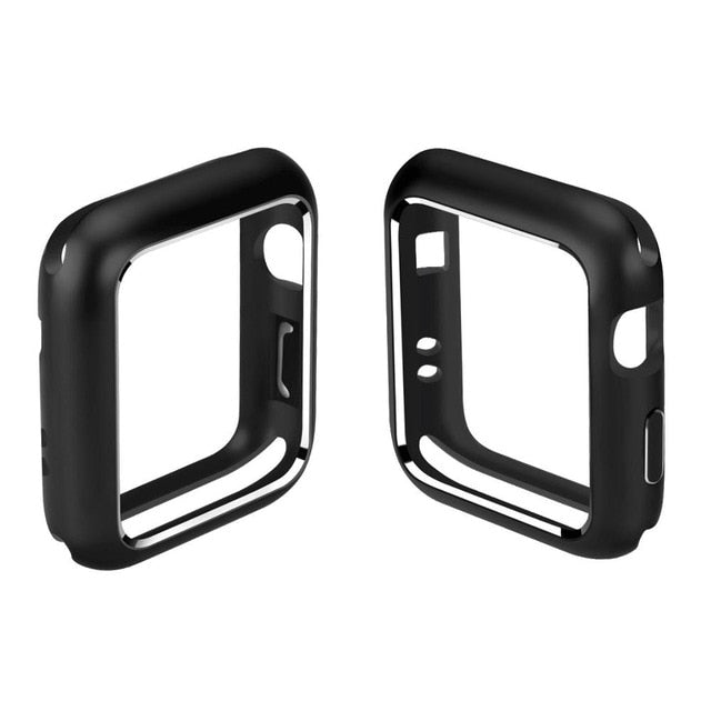 Aluminum Alloy Metal Cover for Apple Watch Case 40 44 mm 38 42 mm Magnetic Full Protection Cover for iWatch Series 4 3 2 Case