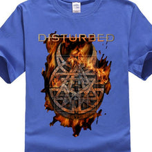 Load image into Gallery viewer, T Shirt New Brand Disturbed Burning Belief Shirt S M L Xl Xxl Official T Shirt Metal Band Tshirt New Brand Casual Clothing