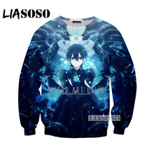 Load image into Gallery viewer, NEW Anime Sword Art Online Tees 3D Print personality T-shirt/Hoodie/Sweatshirt Unisex Cosplay Sexy katana kirito T Shirt Tops