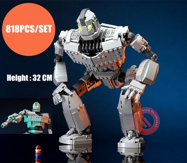 New MOC Robot fit legoings The Iron Giant Robot technic city figures Voltron Model Building Blocks Bricks kids Toys Boy Gifts
