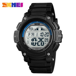 SKMEI New Men's Sport Watches Men 50M Waterproof Chronograph LED Digital Watch Man Wristwatches Relogio Masculino