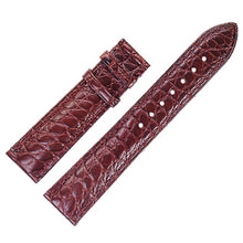 Load image into Gallery viewer, Crocodile Alligator Skin Genuine Leather Watchband Belt Watch Strap Bracelets for Cartier 12/13/14/15/16/17/18/19/20/21/22/23mm