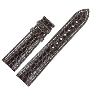 Crocodile Alligator Skin Genuine Leather Watchband Belt Watch Strap Bracelets for Cartier 12/13/14/15/16/17/18/19/20/21/22/23mm