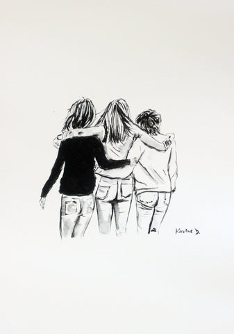 "Aquarelle ""Friendship"""