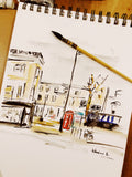 Aquarelle  « Golborne road 1 »