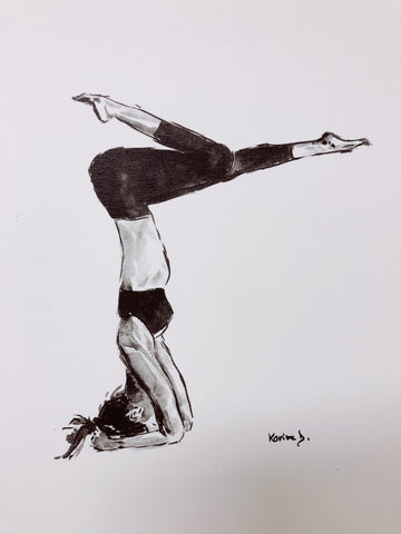 Aquarelle Yoga 2