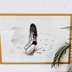 Encre de Chine « In the sand  »