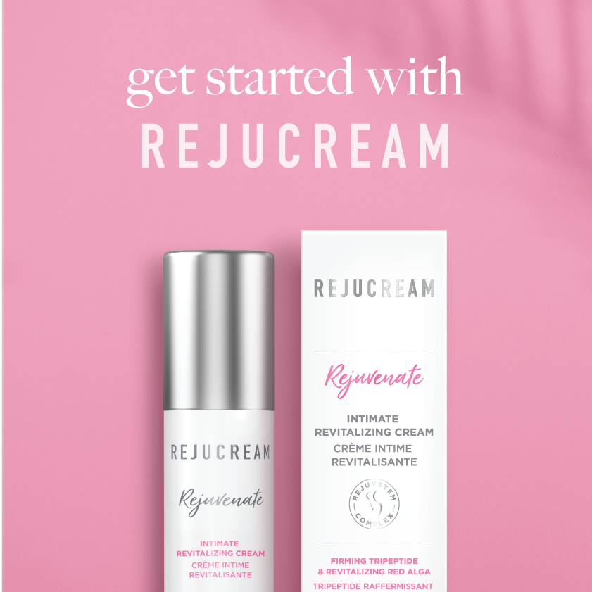 Rejuvenate by Rejucream is an intimate skin care moisturizer for vulva dryness and vaginal dryness.