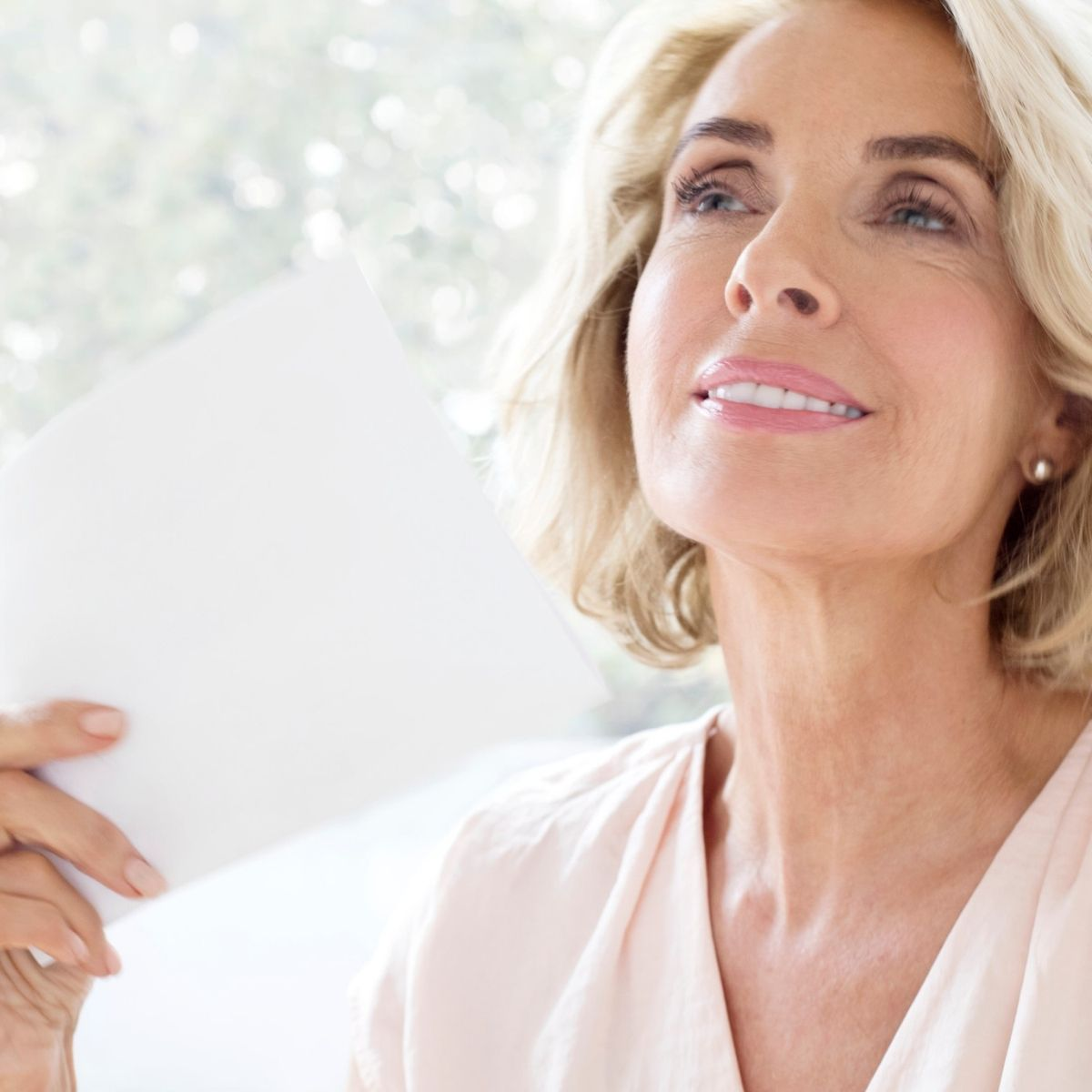 Dryness is a hallmark sign of menopause. With this condition, the skin become thinner and more easily irritated, often becoming painful. Intense hydration is key here!
