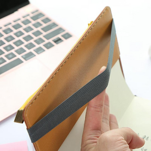 Vegan Leather Book Band Buckle Expandable Pencil Case Pen Bag | 195mm X 45mm - The Stationery Life!