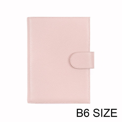 Moterm B6 Genuine Leather Cover for Stalogy B6 Size Notebook Cover Diary Planner Agenda Organizer LARGE BACK POCKET - The Stationery Life!
