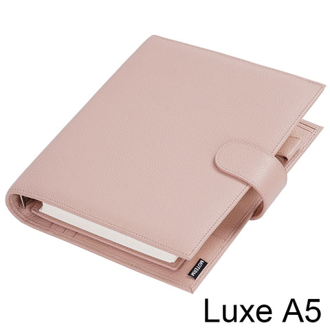 Moterm Luxe A5 Rings Planner with 30 MM Silver Rings Binder Agenda Organizer Diary Journal Notepad Sketchbook - The Stationery Life!