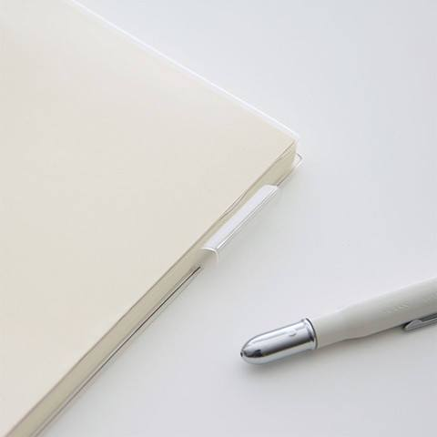A5 Midori Clear Plastic Cover w/ Pen Loop - The Stationery Life!