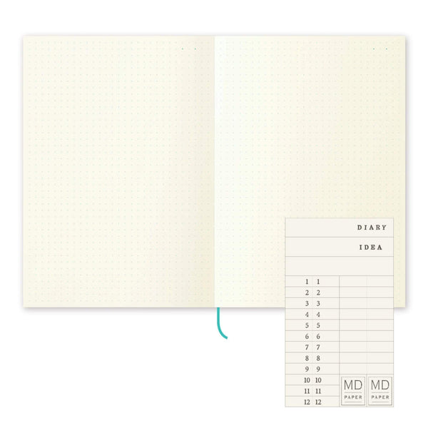 A5 Midori DOT GRID Notebook | A5 Dot Grid - The Stationery Life!