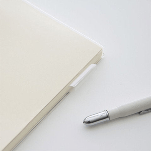 Midori B6 Slim Clear Plastic Cover with Pen Loop - The Stationery Life!