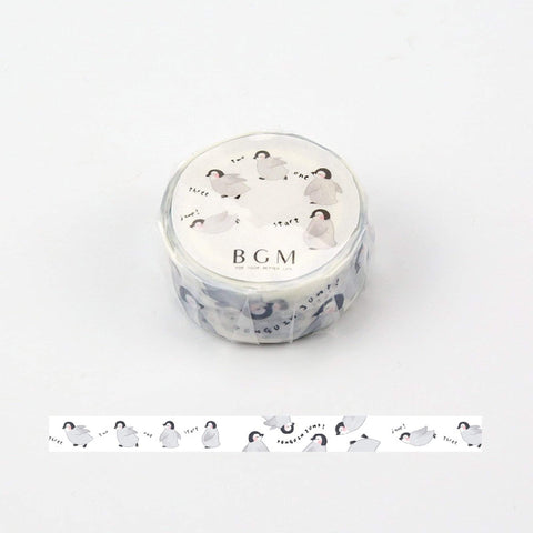 BGM Chatty Baby Penguins Washi Tape - The Stationery Life!