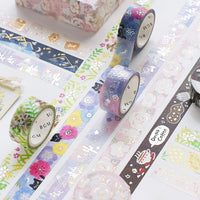 BGM Crayon Land Coffee Cup Coffee Mug Cappuccino Silver Foil Washi Tape - The Stationery Life!