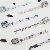 BGM Deer Autumn Fall Winter Washi Tape - The Stationery Life!