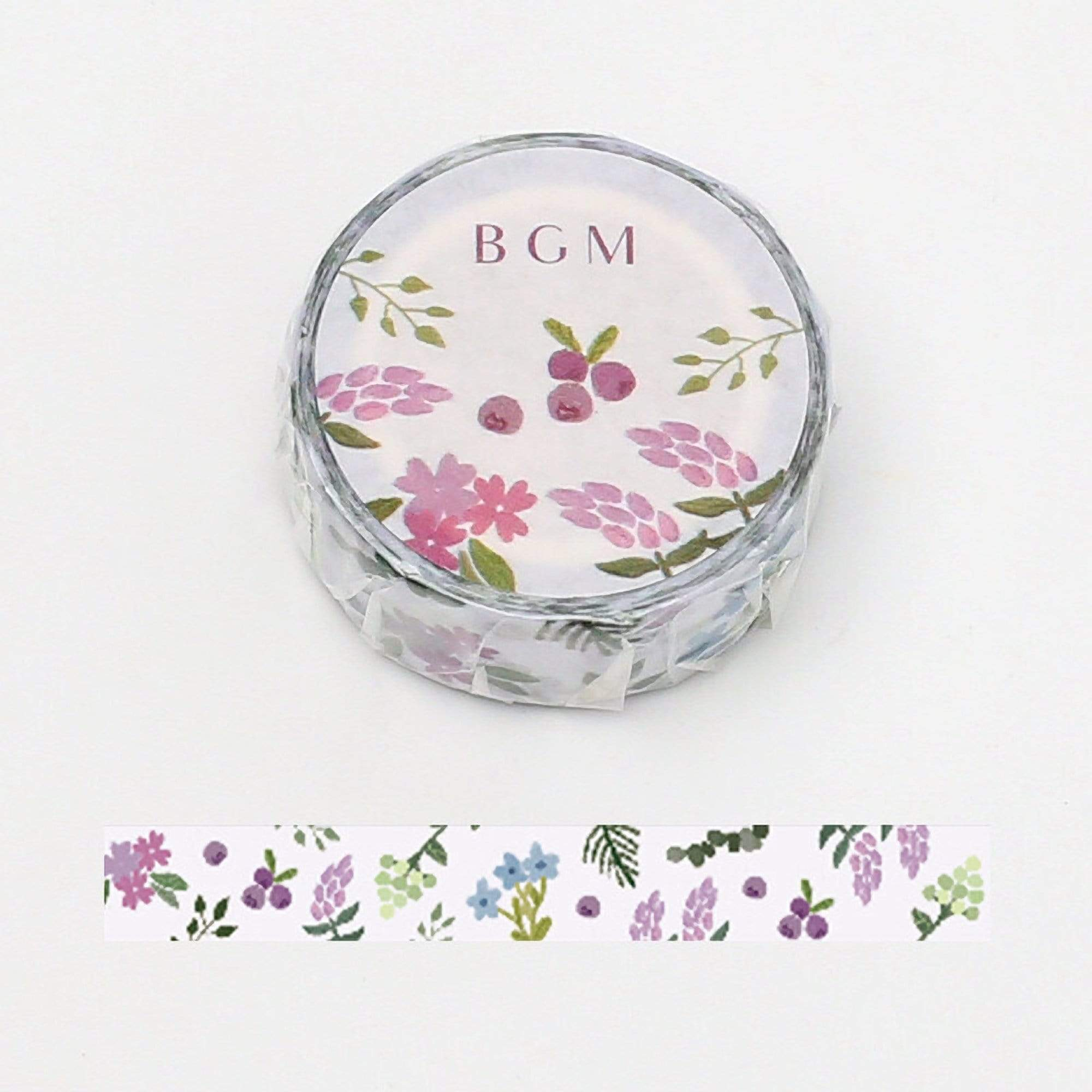 BGM Flower Garden Light Washi Tape - The Stationery Life!