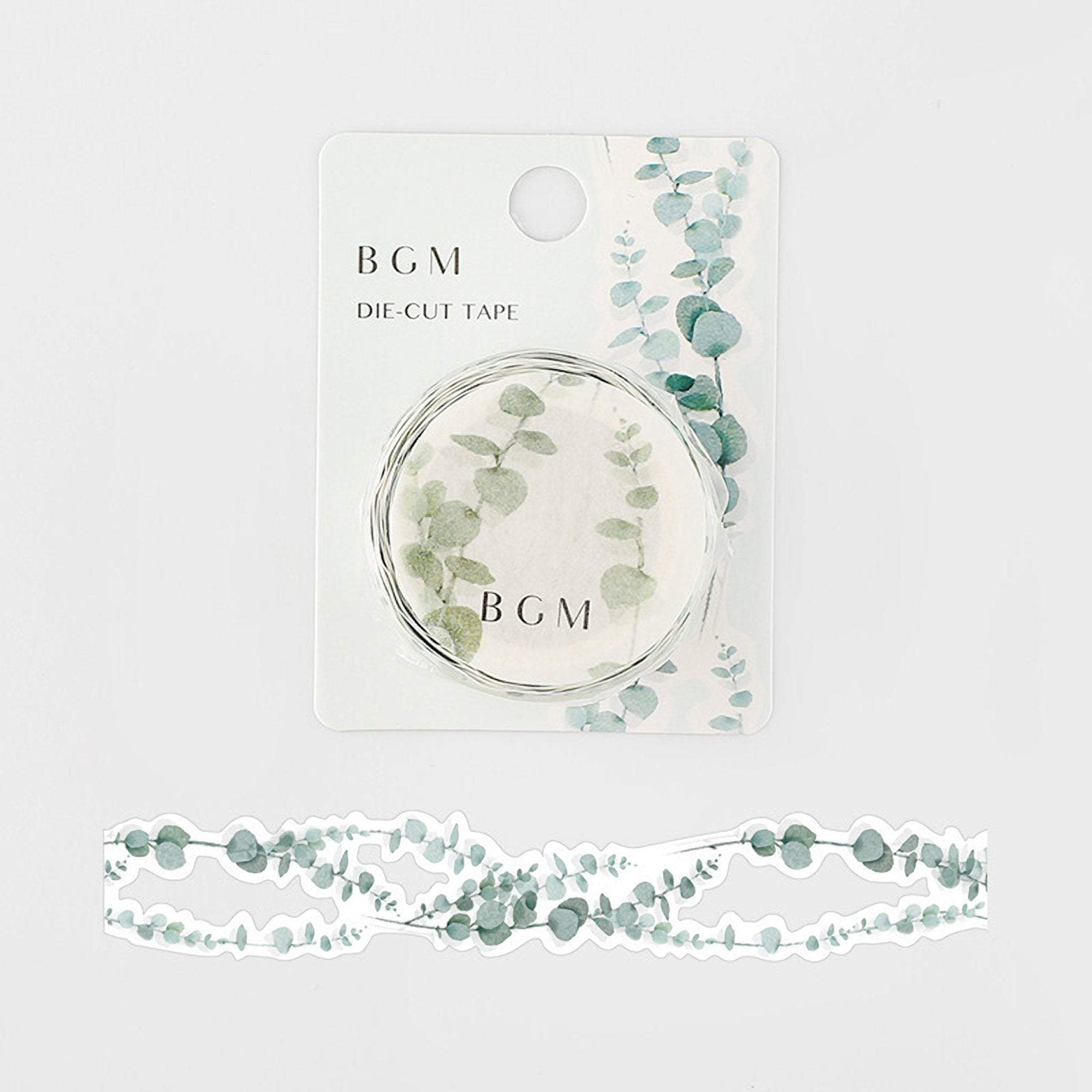 BGM Lace Die-Cut Eucalyptus Koala Washi Tape - The Stationery Life!