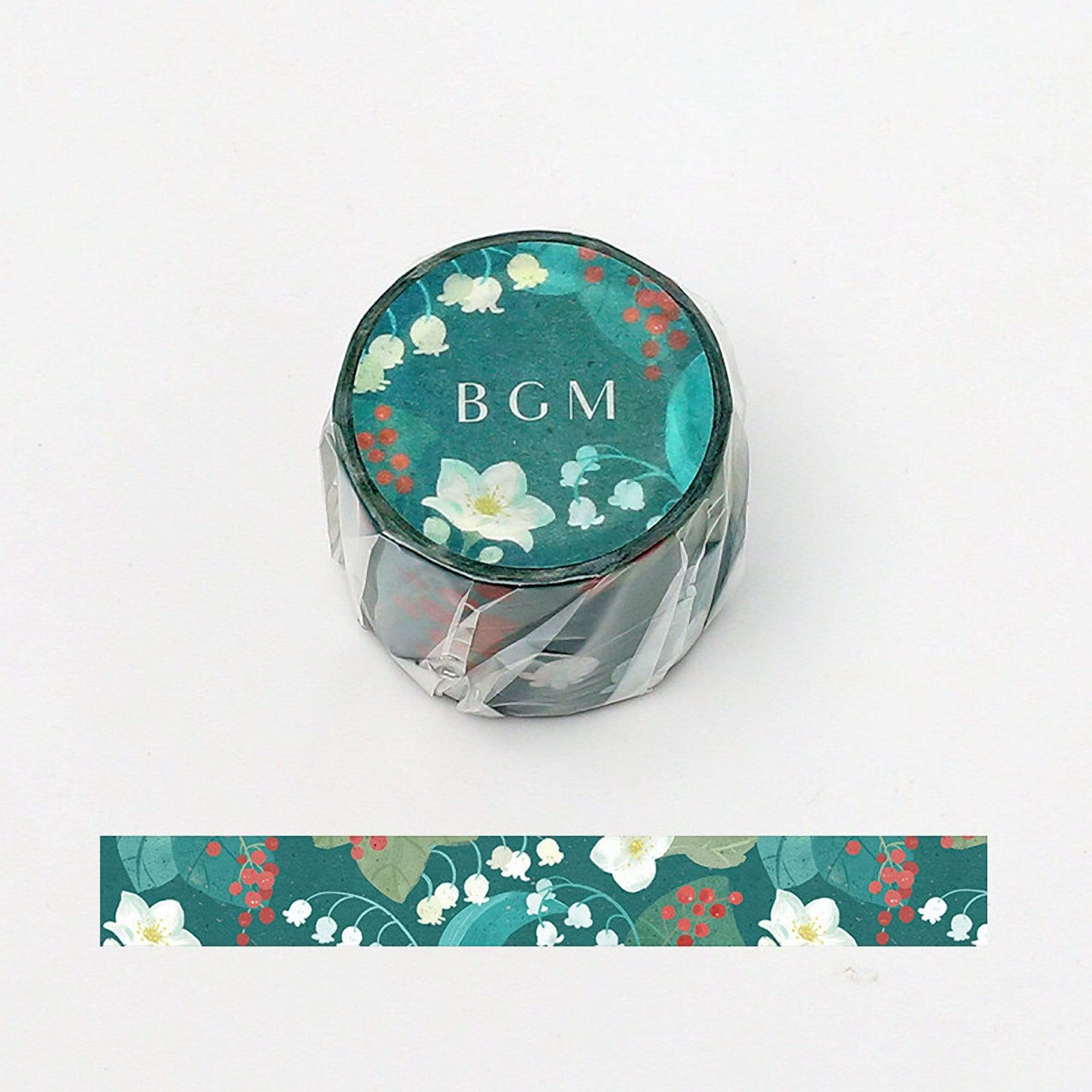 BGM Lily of the Valley Washi Tape - The Stationery Life!