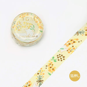 BGM Mimosa Washi Tape - The Stationery Life!