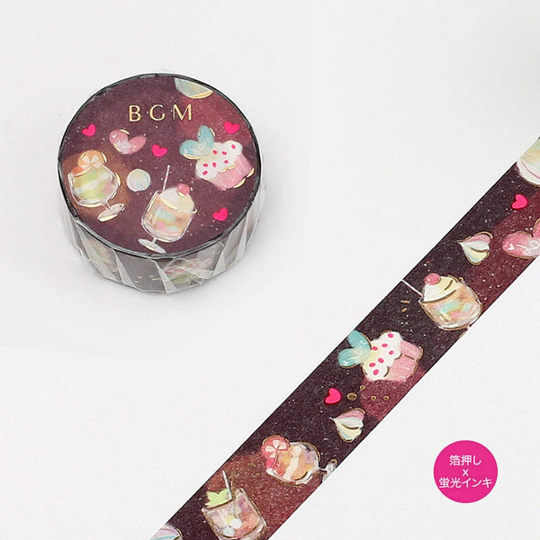 BGM Sweet Treats Ice Cream Parfait Dessert Washi - The Stationery Life!