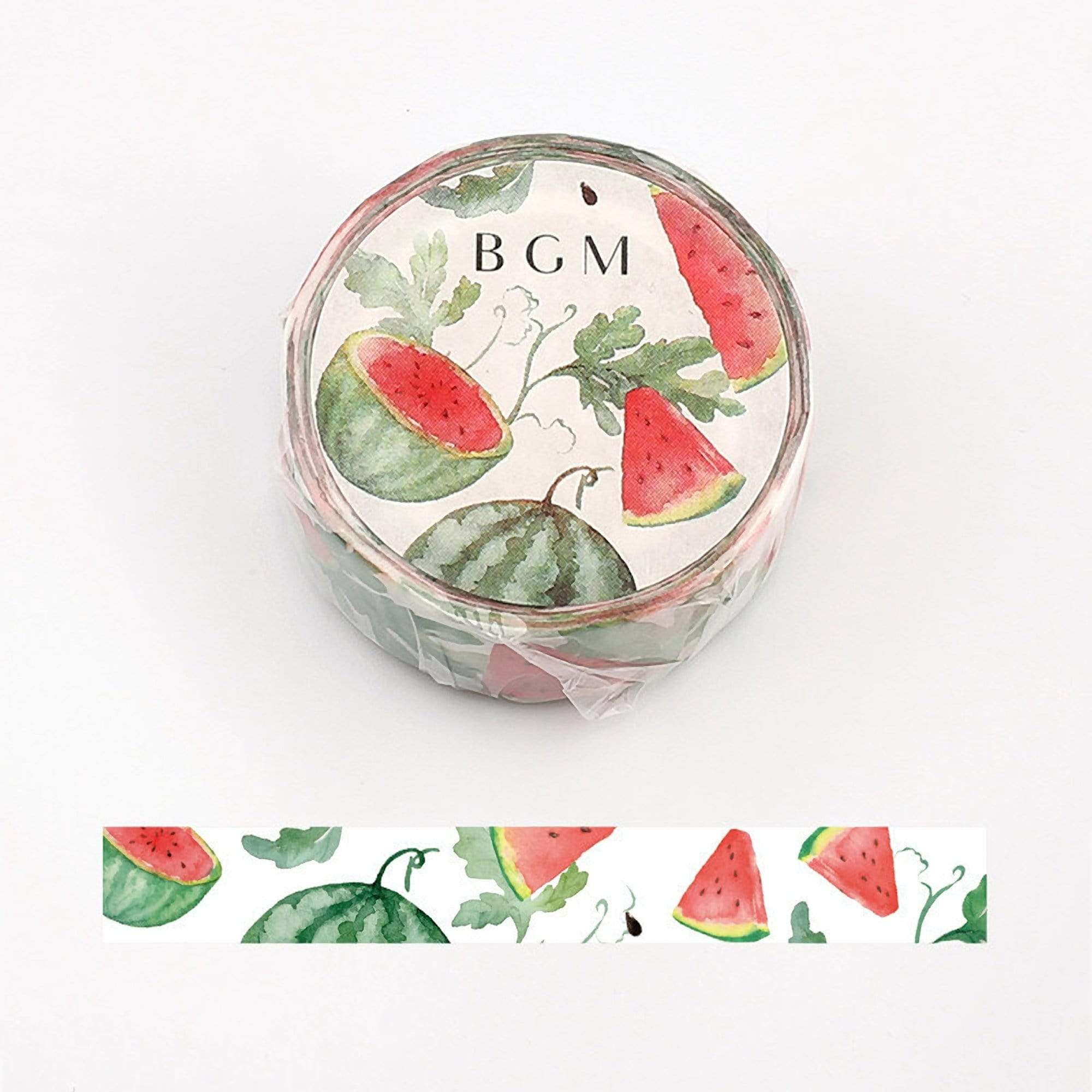 BGM Watermelon Fruit Washi Tape - The Stationery Life!