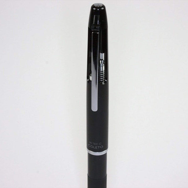 BLACK Pilot Hi-Tec-C Coleto 500 | 4 Color Multi Pen Body - The Stationery Life!