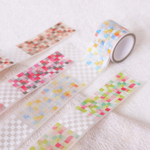 Boutique Pixel Watercolor Hand Painted Washi Tape | Artist Designed & LIMITED EDITION - The Stationery Life!