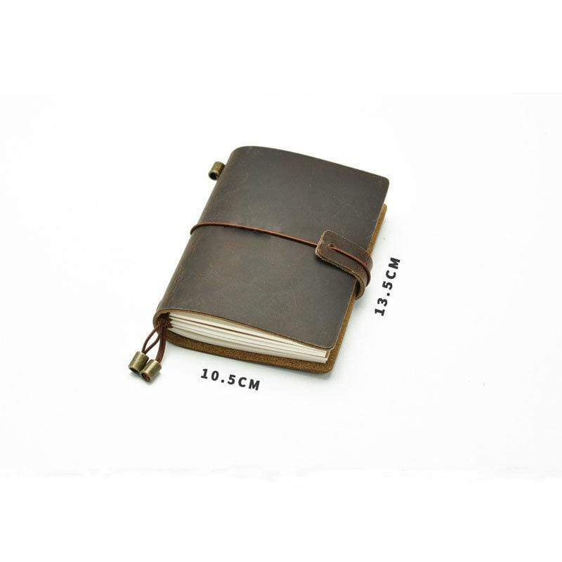 BROWN For Midori Leather Traveler's Passport Notebook - The Stationery Life!
