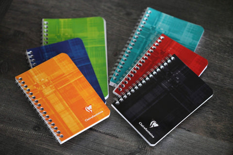 Clairefontaine Oversize A6 Wirebound Notebook Seyes Ruled French Ruled | 6.5 x 4.38 - The Stationery Life!