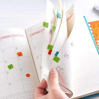 Colorful ORANGE Cagie PU Monthly Leather Index Tabs - The Stationery Life!