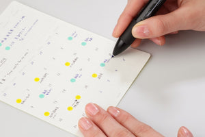 Stalogy Removable Calendar Stickers Undated | Small