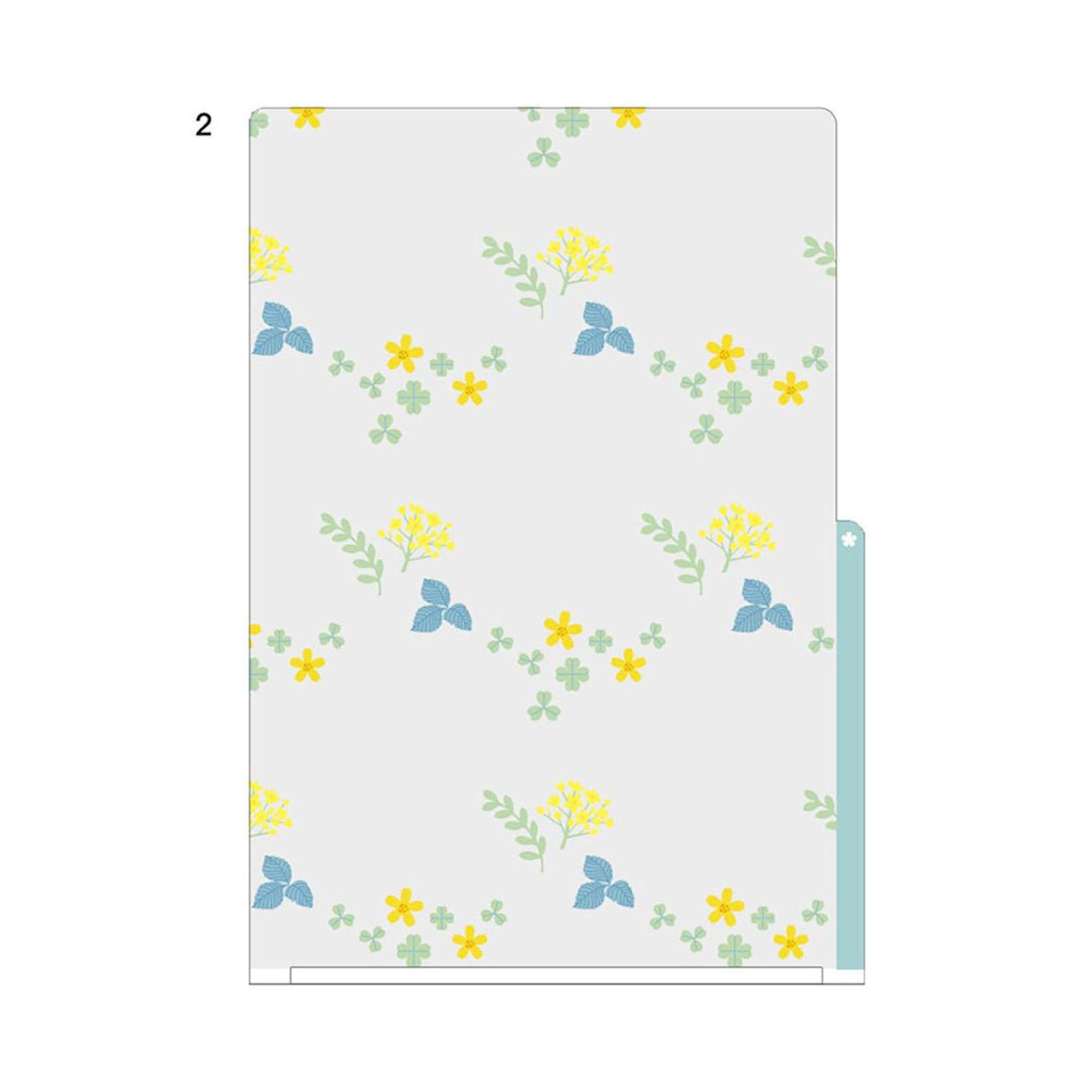 Midori MD A4 3 Pocket Clear Folder | Wildflower Kawaii - The Stationery Life!