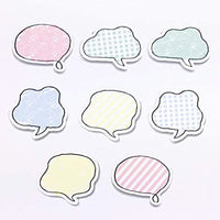 SPEECH BUBBLES | Bande Washi Tape Masking Tape Sticker Roll BDA396 104 Stickers - The Stationery Life!