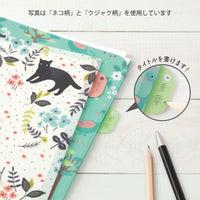 Midori MD A4 Single Pocket Index Clear Folder 2-Pack | Peacocks - The Stationery Life!