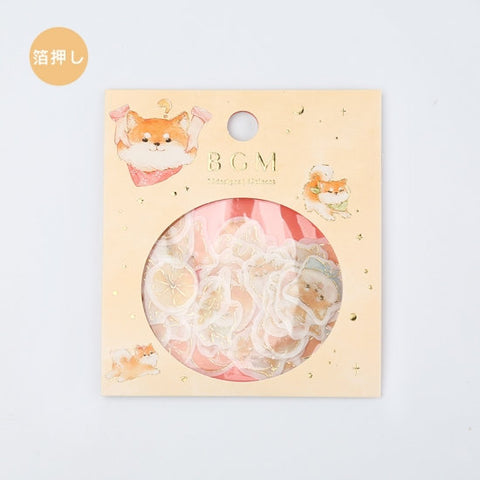 BGM Premium Die-Cut Flake Stickers Shiba Inu Dog Stickers | FG045 - The Stationery Life!