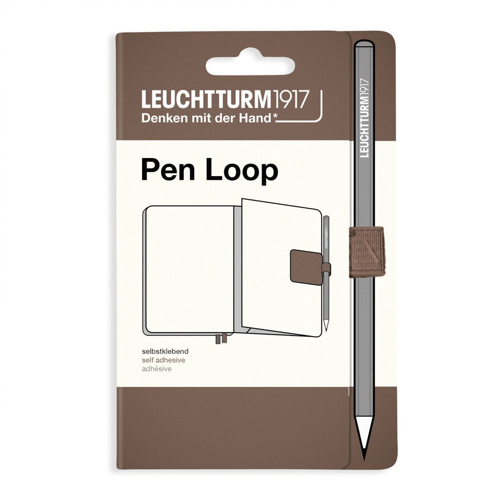 Leuchtturm 1917 Rising Colors WARM EARTH Fabric Pen Loop | Self-Adhesive - The Stationery Life!