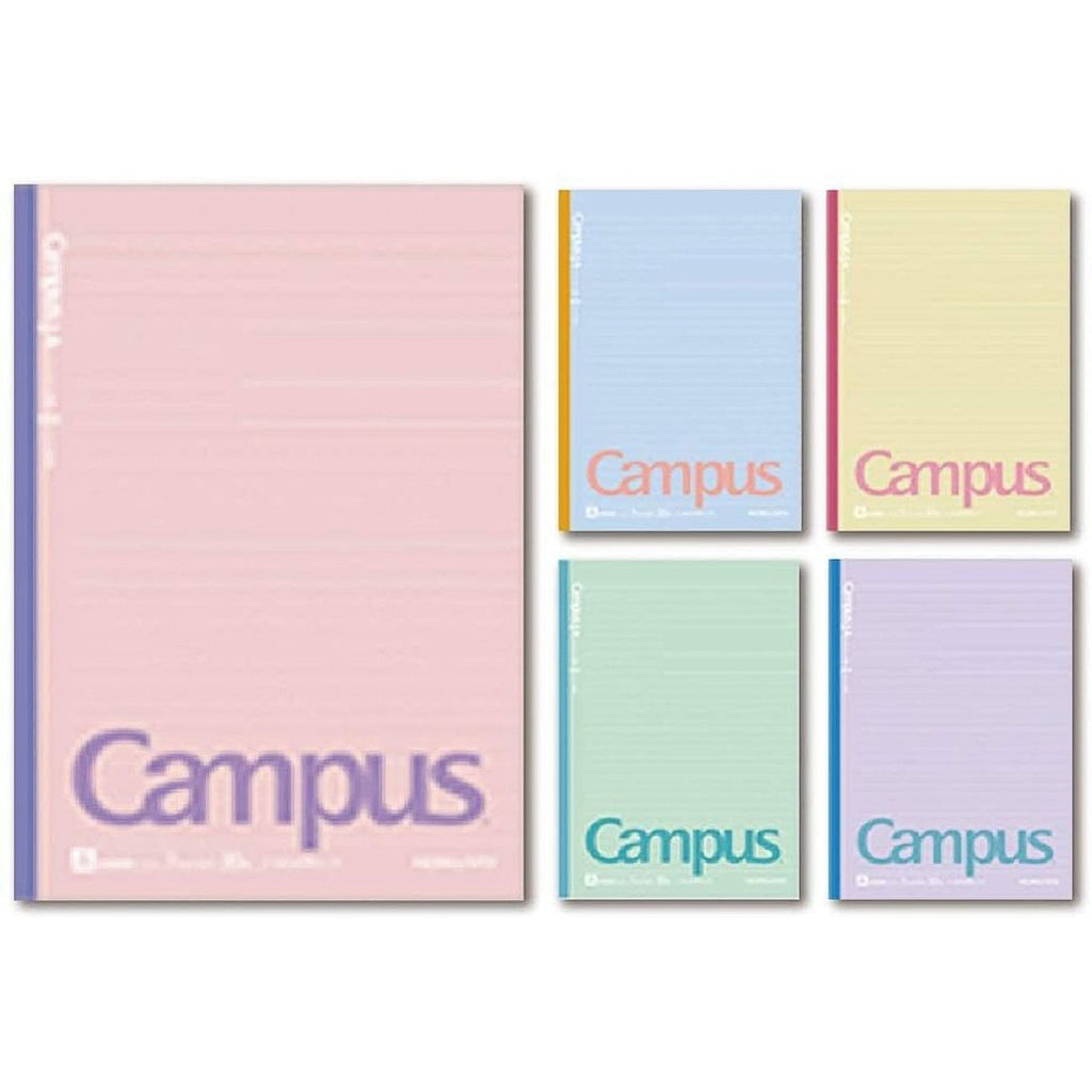 "Kokuyo B5 Campus Notebook ""Cotton Colors"" Semi B5 Dotted Line 6mm 
