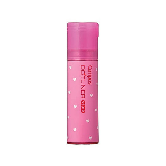 Kokuyo Campus PINK DOTLINER REPOSITIONABLE Glue Stick Photo Glue Acid-Free Glue | D900-06 - The Stationery Life!