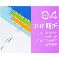 Kokuyo BLUE Soft Ring Notebook Dotted 6 mm Rule | Semi B5 80 Sheets - The Stationery Life!