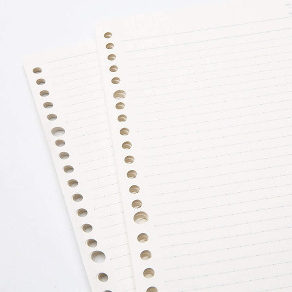 Kokuyo Campus Sarasara Loose Leaf Paper 836BTN Dotted 6 mm Rule 26 Holes 100 Sheets | B5 - The Stationery Life!