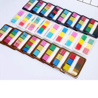 LACE Pop-up Sticky Notes Translucent Index Tabs Page Flags Neon Page Markers | WIDE 60 tabs - The Stationery Life!